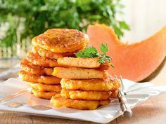 Placki z dyni na słodko Kefir, New Recipes, Meat, Chicken, Cooking, Ethnic Recipes, Food, Pierogi, Rezepte