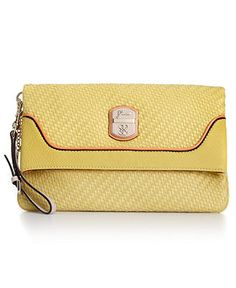 GUESS Handbag, Makala Foldover Clutch - Guess - Handbags & Accessories - Macys