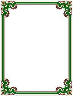 Page Borders Frame Design Cake; Sports Borders; Page Frames Spiral Border Public Domain Clip Art At Wpclipart ...