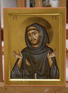 Te Glorificamos🙏 Religious Icons, Religious Art, Spiritual Images, Overcome The World, Russian Icons, Latina, Byzantine Icons, Orthodox Icons, St Francis