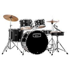 Mapex Tornado 22-Inch LA Fusion Drum Kit, Black. #mapex #drumkit
