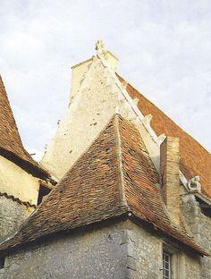 Wonderful peak stone roof