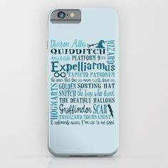 Harry Potter - All Quotes  iPhone & iPod Case