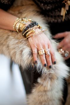 matchbookmag:    Now that's what we can an arm party… (photo: Rima Campbell for Matchbook Jan. '13)