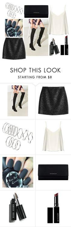 """untitled #3"" by stereocristiana on Polyvore featuring Urban Outfitters, Victoria, Victoria Beckham, Raey, Givenchy, Bobbi Brown Cosmetics and Witchery"