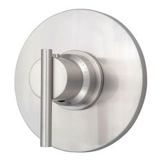 Danze Parma 3/4 in. Thermostatic Shower Trim Only in Brushed Nickel (Valve Not Included)