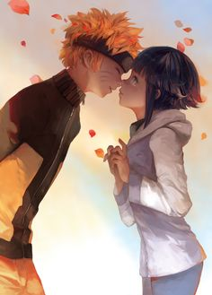 Naruto & Hinata, by malu<<< this is so good and pretty! <3