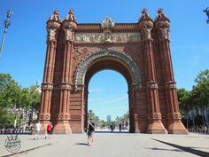 Arco del Triunfo en #Barcelona (#Cataluña - #España).