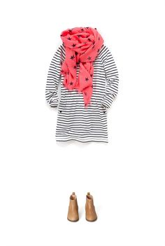 Country Road - Girls Clothing, Footwear & Accessories Online - Star Print Scarf