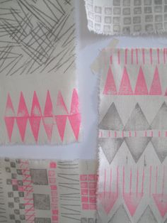 I'm so excited to be teaching new workshops at Megan Morton's The School  Block print and make your own tea towel and napkins  Sunday 4th August 2012 10.00am - 12.30pm  Perfect for those who have always wanted to make something but never known how. You will make your very own pattern blocks and experient with the true joy that is hand printing. Then experiment with hand printing, colour combinations and repeat layouts until you have your own set of napkins and tea towel. We promise