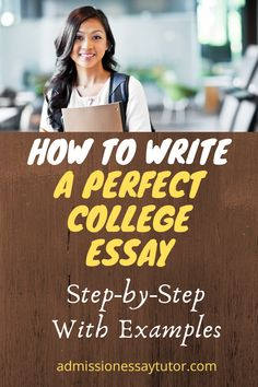 Here you will find a step-by-step workshop tutorial to teach you how to start and write a college application essay. From essay topic selection to key advice to help you write a memorable essay. #CollegeApplicationEssay #CollegeEssayExamples #HowtoStartaCollegeEssay College Essay Examples, College Application Essay, High School Writing Prompts, Essay Writing Tips, College Admission Essay, College Planning, English Writing Skills, Essay Topics, How To Memorize Things