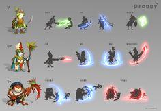GGSCHOOL, Artist 황재희, Student Portfolio for game, 2D Monster Sheet, www.ggschool.co.kr