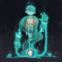 "Gewinner der Challenge ""Ghosts & Poltergeists"" - Winners of the ""Ghosts & Poltergeists"" Challenge Cassey Kuo Fantasy Character Design, Character Design Inspiration, Character Art, Game Character Design, Character Design Animation, Character Ideas, Cartoon Kunst, Cartoon Art, Cartoon Design"