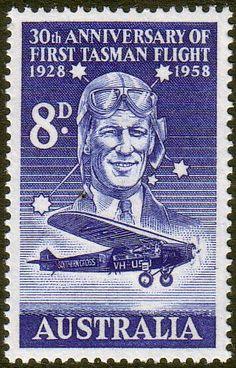 First Tasman flight