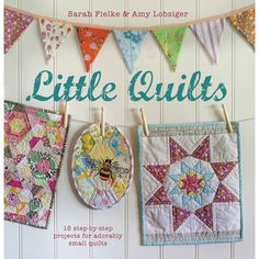 Create Contemporary Patchwork And Quilting Techniques. Sometimes The Quilt Is One Block, Sometimes Several Blocks, But All Have Been Designed With The Same Attention To Detail As A Full-Sized Quilt. T