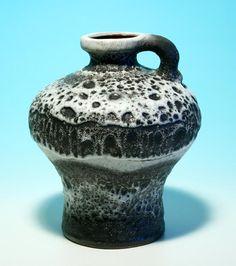 """Keramik Vase Carstens 1960er Jahre0875-18"""