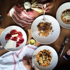.@rick_poon | delicious italian lunchin' with @hedleyandbennett @Jennifer @mstetsondesi... | Webstagram