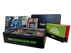 FreshBiz Game - Board Game For Families that Combines Real World Business Strategies with Wholesome Family Fun