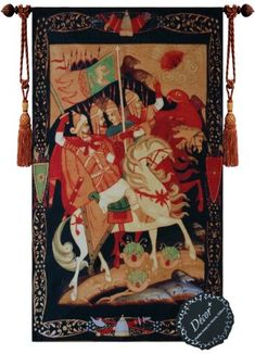 [Free Shipping] Beautiful Knights of Crusade Fine Tapestry Jacquard Woven Wall Hanging Art Decor Decor Plus http://www.amazon.com/dp/B00H6ZFLZ6/ref=cm_sw_r_pi_dp_Igxhwb1TAHMVV