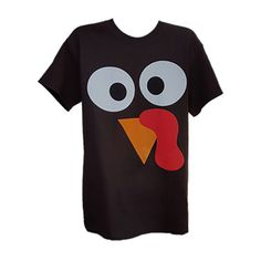 Turkey Face Tee Shirt Was 14.95 NOW 8.97 by Tees2urdoor on Etsy