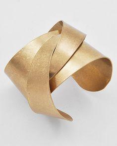 CUFF BRACELET - Gold  (also comes in silver) $15.76