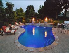 Backyard Designs With Inground Pools best 25 swimming pool designs ideas on pinterest Ive Always Wanted One And Hope To One Day Have An In Ground Pool