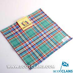 MacFarlane Tartan Handkerchief: