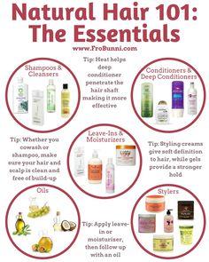 Natural Hair 101: The Essentials