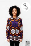A rich purple colour with orange and white flower patterns. About The African Shirt Company: This shirt is made in...