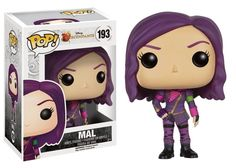 This is a Disney Funko Descendants Mal POP Vinyl Figure that is produced by the neat folks over at Funko. Descendants fans are sure to be excited by seeing Mal in her in Funko POP Vinyl style Disney Pop, Disney Pixar, Disney Live, Disney Villains, Pop Figurine, Figurines Funko Pop, Funko Figures, Disney Figurines, Funk Pop