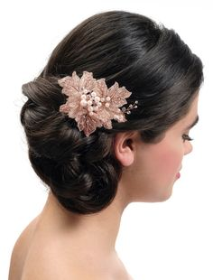 Haarcorsage BB-435 Poirier | Bruidsaccessoires - Honeymoonshop Bridal Hair, Bb, Crown, Accessories, Jewelry, Hair, Handstand, Corona, Jewlery