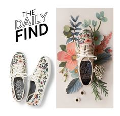 """""""Daily Find: Keds x Rifle Paper Co."""" by polyvore-editorial ❤ liked on Polyvore featuring DailyFind"""