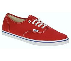 Vans Authentic Lo Pro - Mars Red True White ad67cb81a9