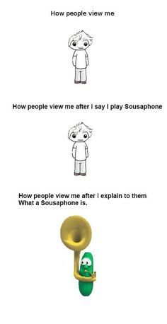 Lol, I don't think there's much of a mental image for mellophone...