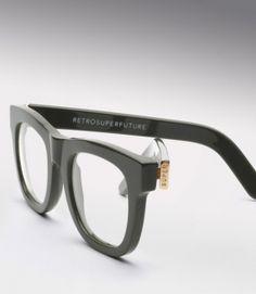 Super Ciccio Grey Eyeglasses