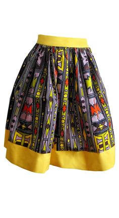 Tribal African Batik Print Skirt by buythedress on Etsy African Fashion Designers, African Inspired Fashion, African Print Fashion, Fashion Prints, African Attire, African Wear, African Women, African Dress, Afro Chic