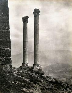 Fred Boissonnas, 'Οn the Sacred Rock of the Acropolis', Athens,1903.