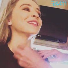Video: Sabrina Carpenter Having Makeup Applied January 17, 2015 - Dis411