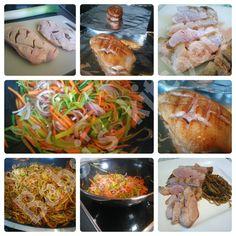 ROSA ENTENBRUST MIT WOKPFANNE Rezept: http://babsiskitchen-foodblog.blogspot.de/2016/05/rosa-entenbrust-mit-wokpfanne.html