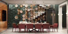 Cafe Interior Design, Classic Interior, Apartment Interior Design, Interior Architecture, Luxury Dinning Room, Dining Room, Dining Area Design, Rooms Ideas, Modern Cafe