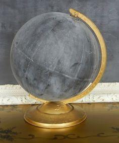 wereldbol-krijtbord