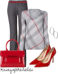 """Office Wear"" by kaseyofthefields on Polyvore"