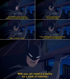 Batman in Justice League: A New Frontier.