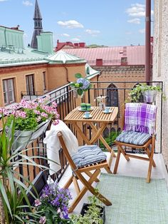 Раскладная мебель для балкона