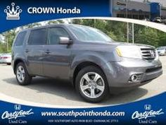 Crown Honda of Southpoint - 2014 Honda Pilot EX-L SUV: https://www.southpointhonda.com/used-inventory/index.htm