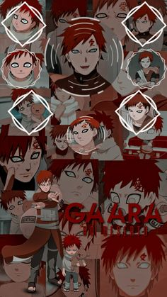 👬🏼⃜◸ EDIT WALLPAPER - GAARA