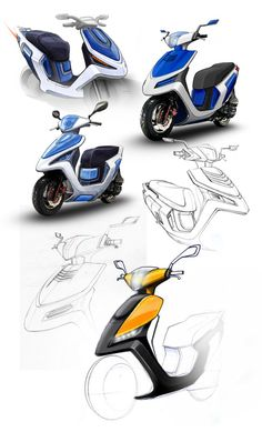 Sketches & Photoshop on Behance