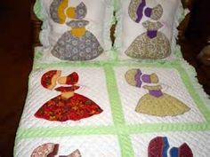 umbrella girl quilt w pillows $ 665 00