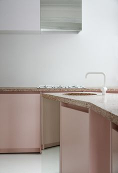 Pink terrazzo dreams via. Atelier Dialect