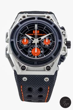 A Triple Review On The Linde Werdelin SpidoSpeed Black Orange Chronograph